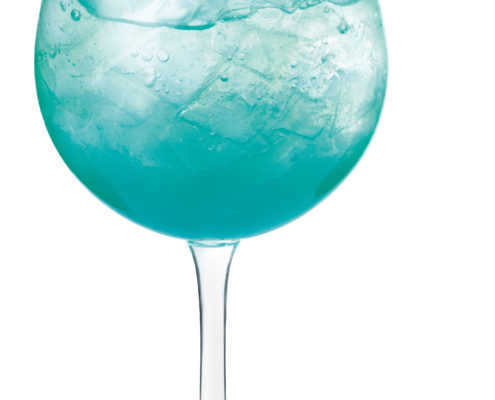 Virgin sparkling blue
