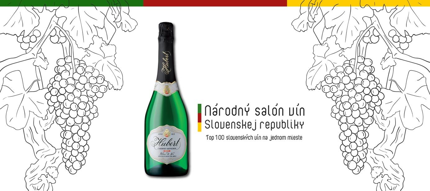 "Víťazom kategórie šumivých vín národného salónu SR je Hubert Cabernet Sauvignon ""Blanc de Noir"""