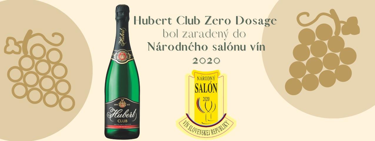 Hubert Club Zero Dosage nájdete vNárodnom salóne vín!