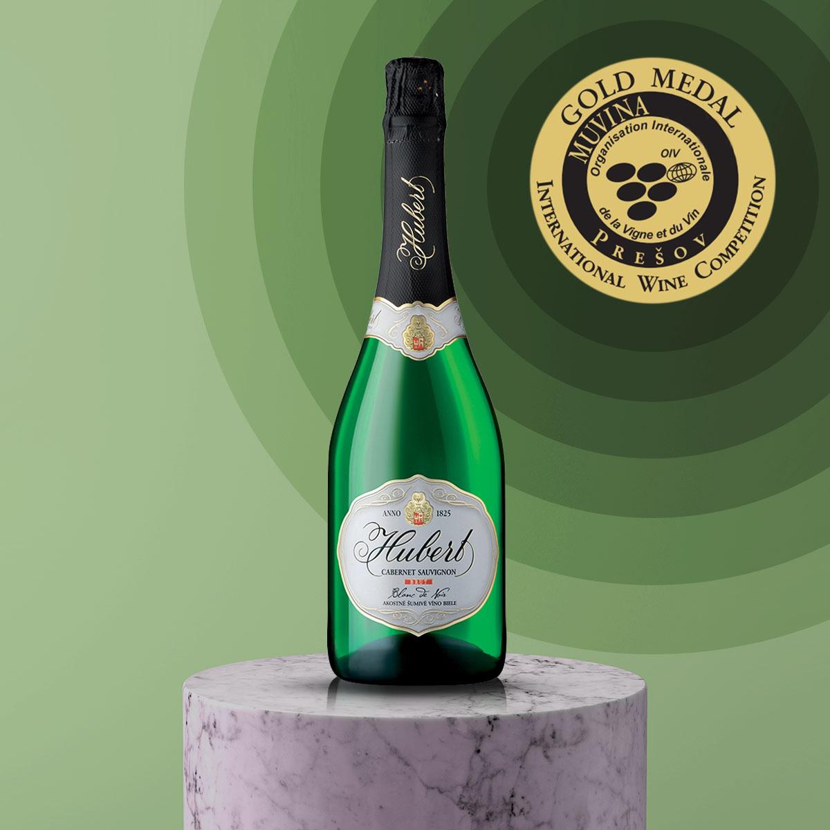 Zlato na MUVINA Prešov 2020 pre Hubert Cabernet Sauvignon Blanc de Noirs